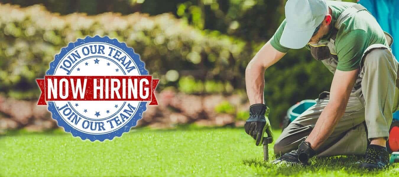 Career Opportunities Banner Smart Earth Sprinklers